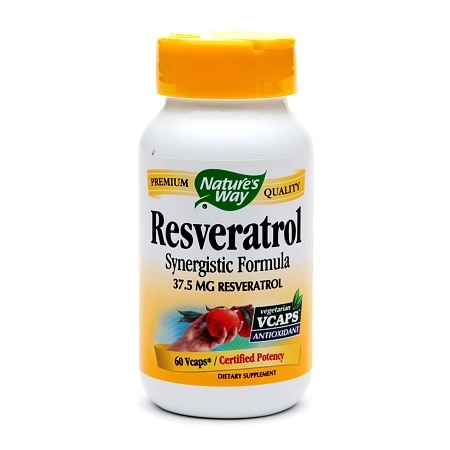 Nature's Way Resveratrol 37.5mg, VCaps