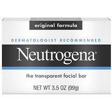 Neutrogena Transparent Facial Bar Soap Original