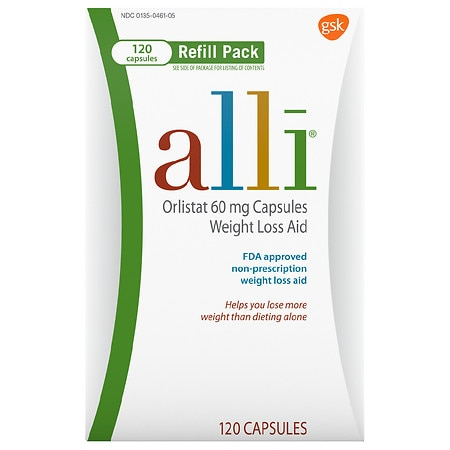 Alli Weight Loss Aid Capsules Refill Pack Health Fitness Skin Care Beauty Supply Deals