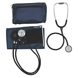 Mabis MatchMates Combination Kit with a 3M Littmann Classic II S.E. Stethoscope Navy