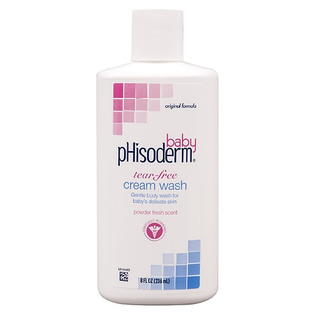 Phisoderm Baby Tear-Free Cream Wash