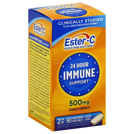 Ester C 500 mg Vitamin C Vitamin Supplement Coated Tablets