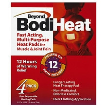 Pain Relieving Heat Pad, Back