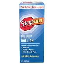 Cold Pain Relieving Liquid Roll-On, Extra Strength