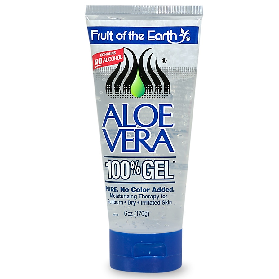 fruit of the earth aloe vera 100  gel crystal clear