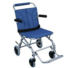 Super Light Folding Transport Chair, 18 inch, with carrying bag
