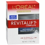 L'Oreal Paris Revitalift Skin Expertise Complete Anti-Wrinkle & Firming Moisturizer Night Crea