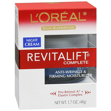 L'Oreal Paris Revitalift Complete Anti-Wrinkle & Firming Moisturizer Night Cream