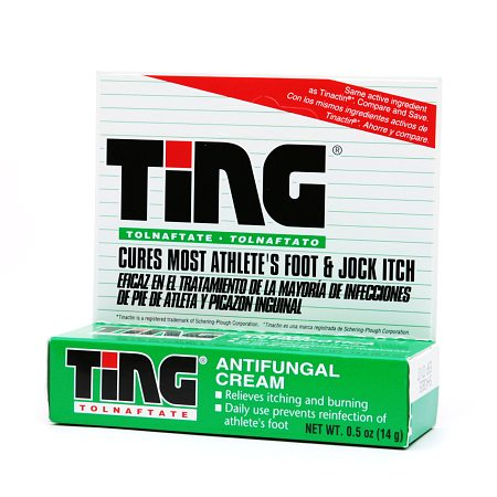Ting Athlete's Foot and Jock Itch Cream