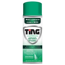 Ting Foot & Jock Itch, Antifungal Spray Powder