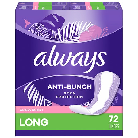 Always Xtra Protection Active Dailies Clean Scent