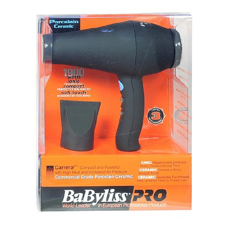 BaByliss PRO Pro Commercial Grade Porcelain Ceramic Hair Dryer - 1 ea