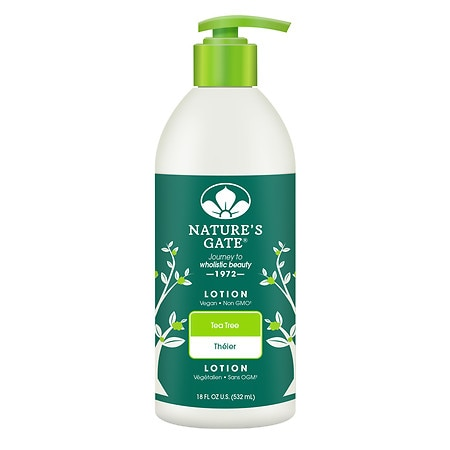 Nature's Gate Lotion Tea Tree