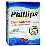Stool Softener Liquid Gels