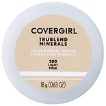 CoverGirl TruBlend Naturally Luminous Loose Mineral Powder Translucent Light 410