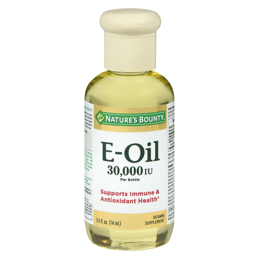 Nature S Bounty Vitamin E Oil Reviews