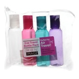 Mon Image 3 oz Travel Bottle Pack, Set of 4