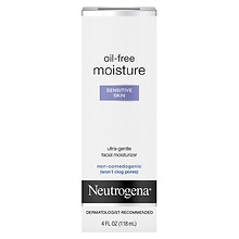 Oil-Free Moisture Ultra-Gentle Facial Moisturizer, Sensitive Skin