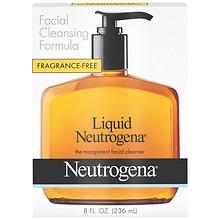 Neutrogena Liquid Facial Cleanser Fragrance Free