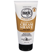 Magic Shave Razorless Cream Shave, Bald Head Smooth Head Maintenance Light Fresh Scent