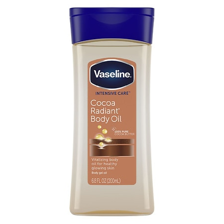 Vaseline Intensive Care Cocoa Radiant Non-Greasy Body Oil with Pure Cocoa Butter