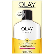 Olay Complete All Day UV Moisturizer Lotion SPF 15