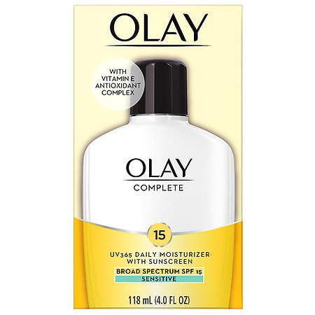 Olay Complete All Day UV Moisturizer with Vitamin E, SPF 15