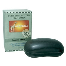 Out Of Africa African Black Pure Shea Butter Bar Soap