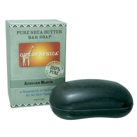 African Black Pure Shea Butter Bar Soap