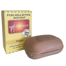 Vanilla Pure Shea Butter Bar Soap Vanilla