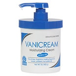 Vanicream Moisturizing Skin Cream with Pump Dispenser