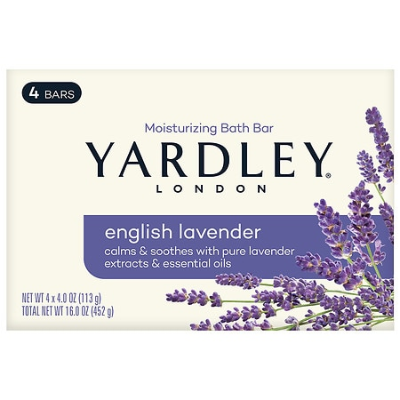 Moisturizing Bars English lavender,4.25 oz by Yardley of London