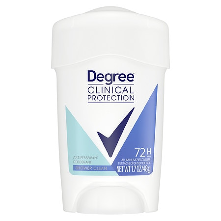 Degree Women Clinical Protection MotionSense Antiperspirant & Deodorant Solid Shower Clean