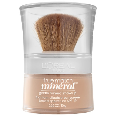 L'Oreal Paris True Match Gentle Mineral Makeup SPF 19