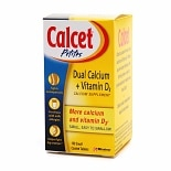 Calcet Petites Dual Calcium Plus Vitamin D3 Calcium Supplement Coated Tablets