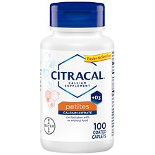 Citracal Petites Calcium Citrate Formula + D3, Coated Tablets