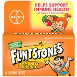 Flintstones Children's Multivitamin plus Immunity Support Supplement Tablets Orange