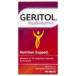 Geritol Complete Multivitamin Mineral Supplement, Tablets