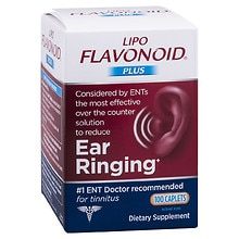 Lipo-Flavonoid Plus Ear Health Formula Dietary Supplement Caplets