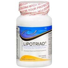 Lipotriad Eye Vitamin and Mineral Supplement AREDS formula