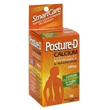 Posture-D Smart Care Calcium with Vitamin D & Magnesium 600 mg