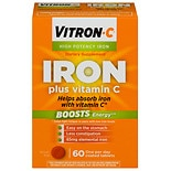 Vitron-C Iron Supplement Plus Vitamin C, Coated Tablets