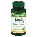 Nature's Bounty Black Cohosh 530 mg Herbal Supplement Capsules