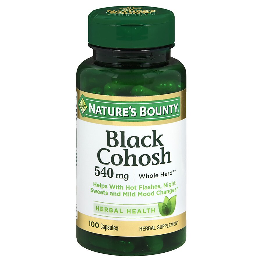 Nature S Bounty Black Cohosh  Mg