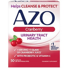 AZO Cranberry Dietary Supplement Tablets
