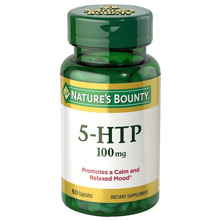 Nature's Bounty 5-HTP 100mg, Capsules