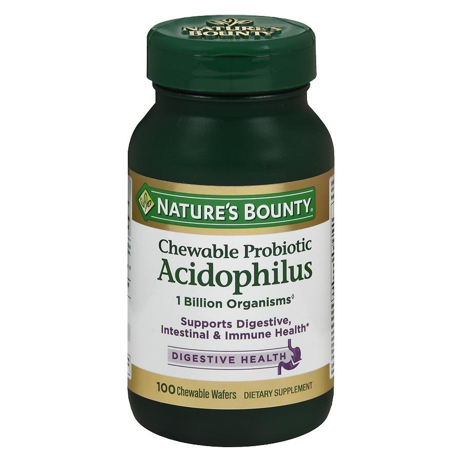 Probiotic acidophilus chewable