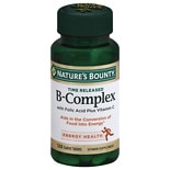 B-Complex plus Vitamin C Dietary Supplement Tablets
