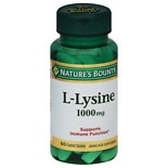 Nature's Bounty L-Lysine 1000mg