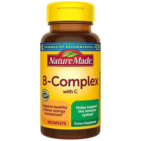 Nature Made B-Complex Dietary Supplement Caplets